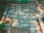 antique Belgian Block paving
